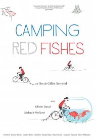 Affiche de Camping Red Fishes