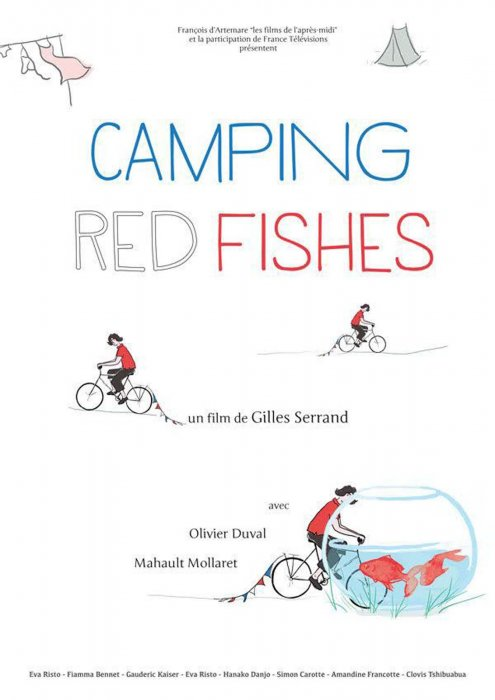 Camping Red Fishes : Affiche