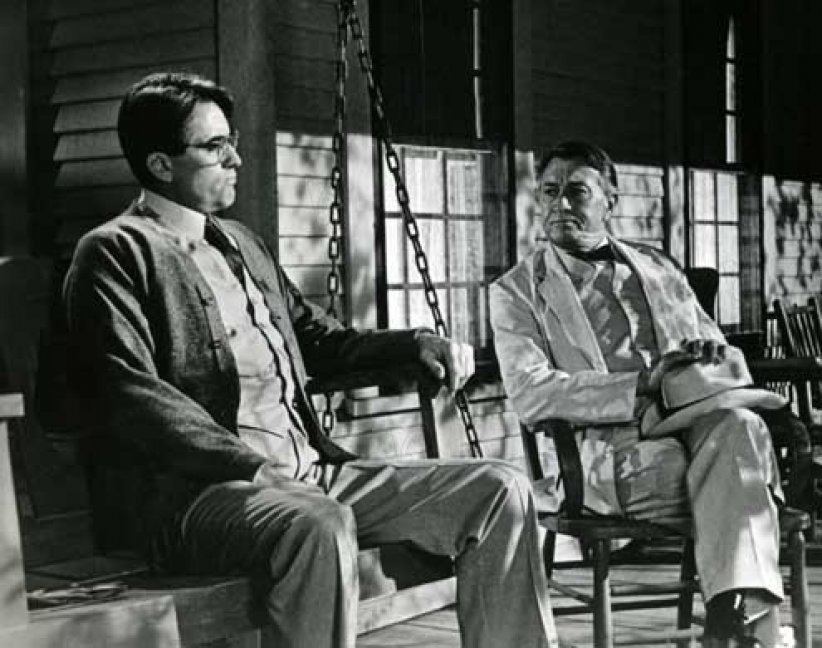 Du silence et des ombres : Photo Gregory Peck, Robert Mulligan