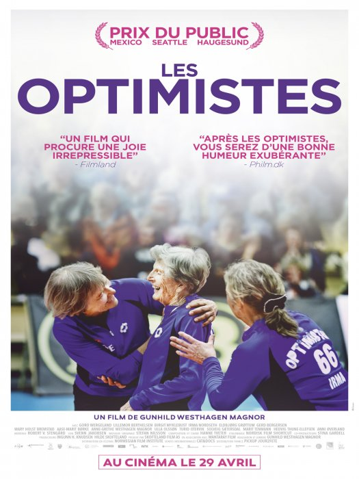 Les Optimistes : Affiche