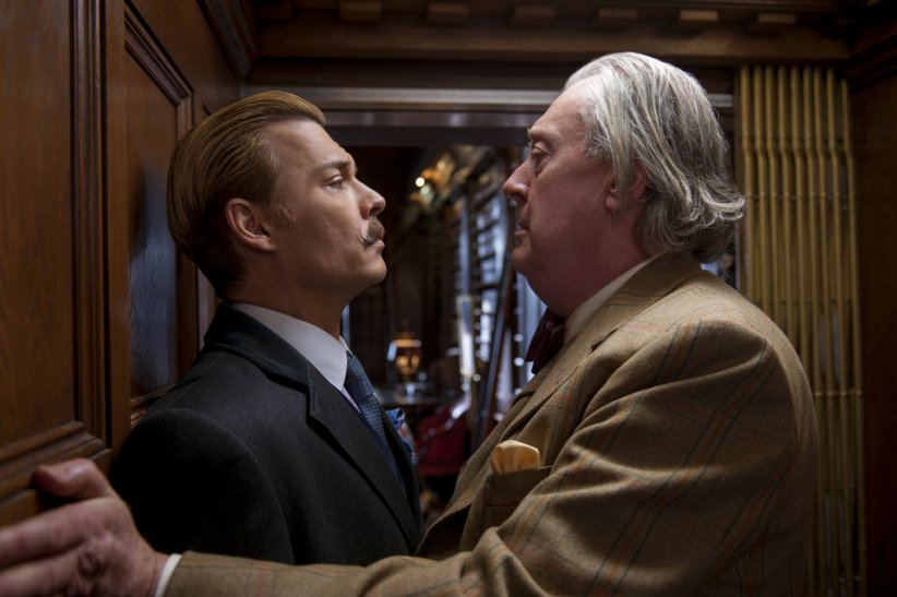 Charlie Mortdecai : Photo Johnny Depp, Michael Culkin