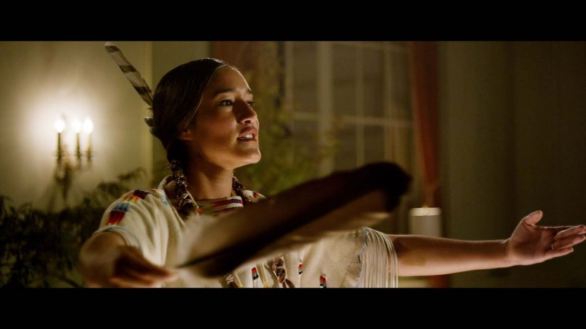 Te Ata : Photo Q'Orianka Kilcher