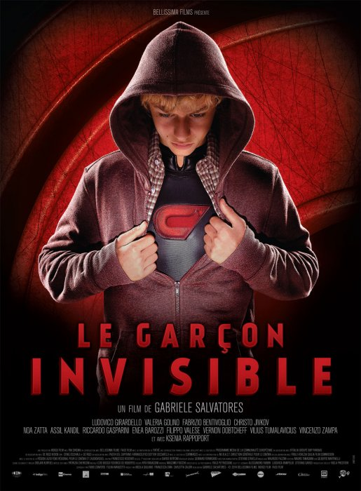 Invisible boy : Affiche