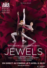 Affiche de Joyaux (Royal Opera House)