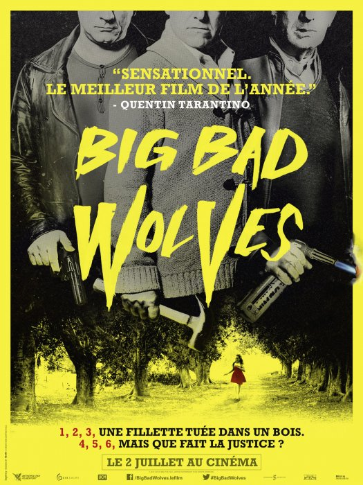 Big Bad Wolves : Affiche