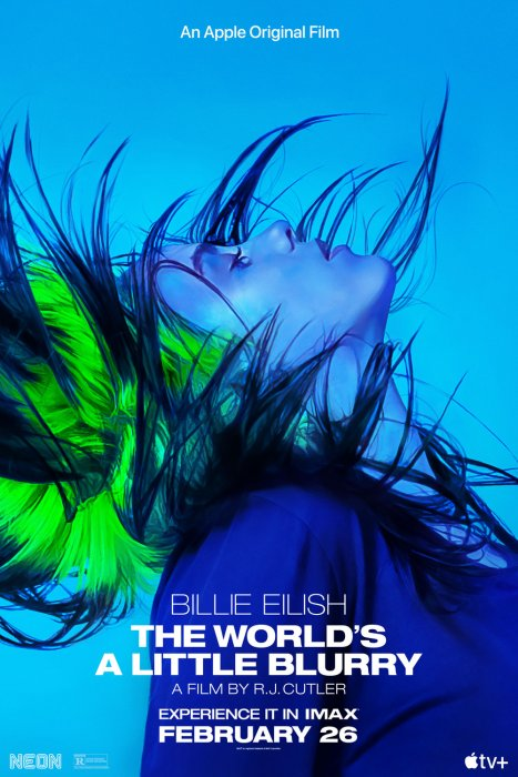 Billie Eilish: The World's A Little Blurry : Affiche