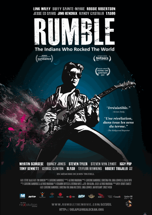 Rumble: The Indians Who Rocked The World : Affiche