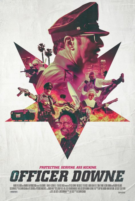 Officer Downe : Affiche