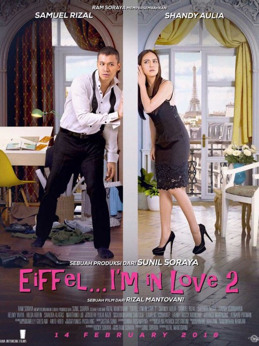 Eiffel I'm in Love 2 : Affiche
