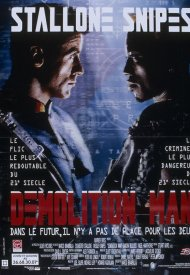 Affiche de Demolition Man
