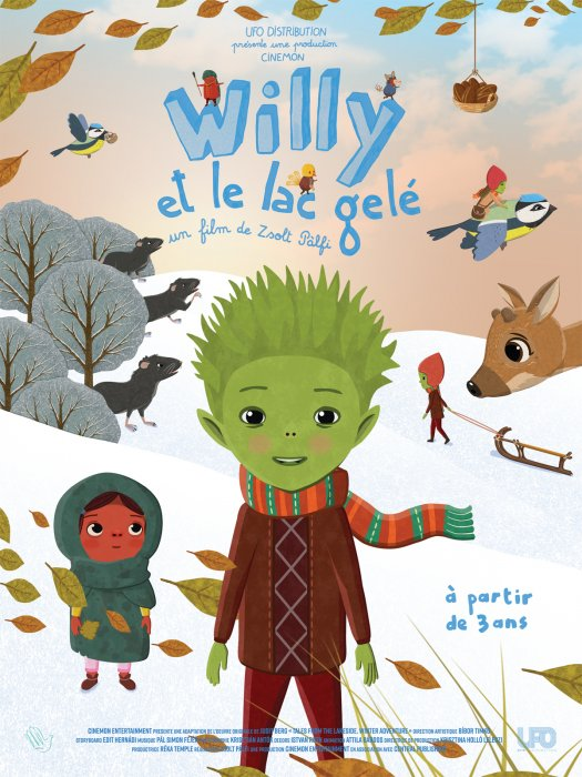 Willy et le lac gelé : Affiche