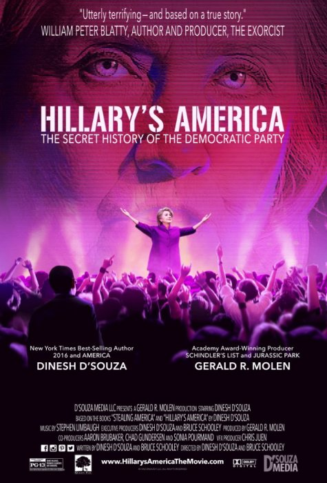 Hillary's America: The Secret History of the Democratic Party : Affiche
