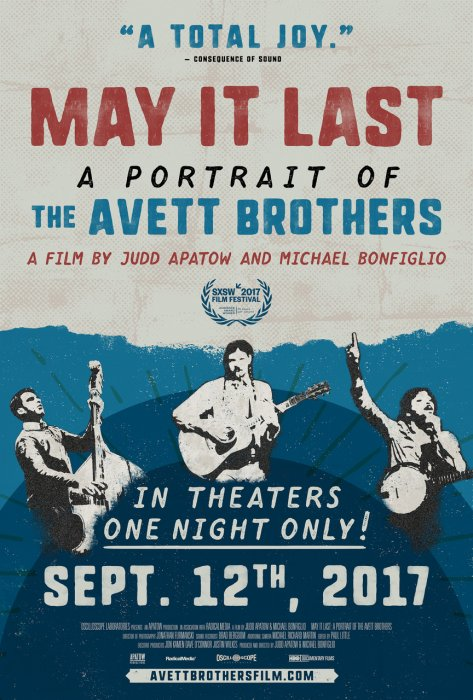 May It Last: A Portrait of the Avett Brothers : Affiche