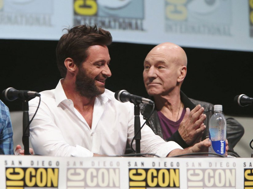 X-Men: Days of Future Past : Photo promotionnelle Hugh Jackman, Patrick Stewart