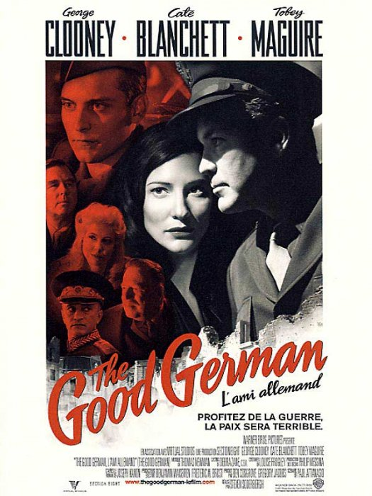 The Good German : Affiche