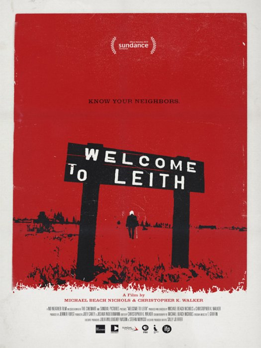 Welcome to Leith : Affiche