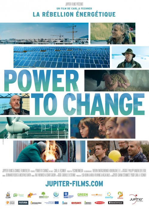 Power To Change : la Rébellion Énergétique : Affiche