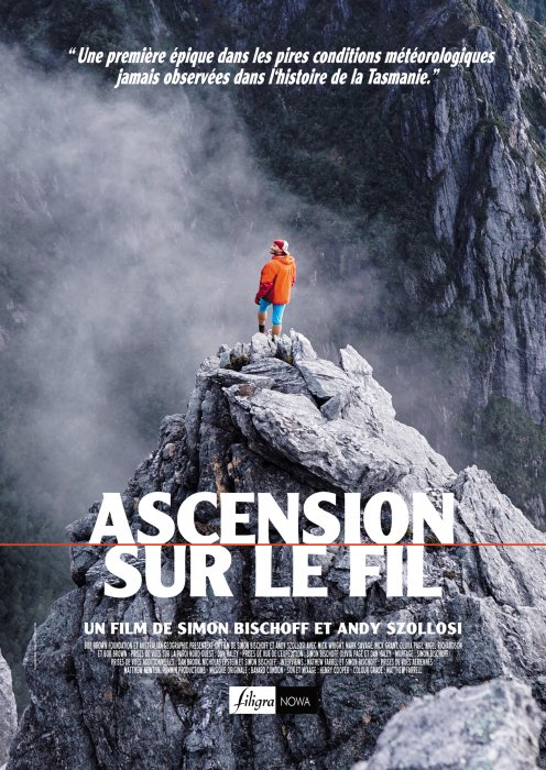 Ascension sur le fil : Affiche