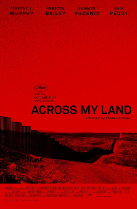 Across My Land : Affiche