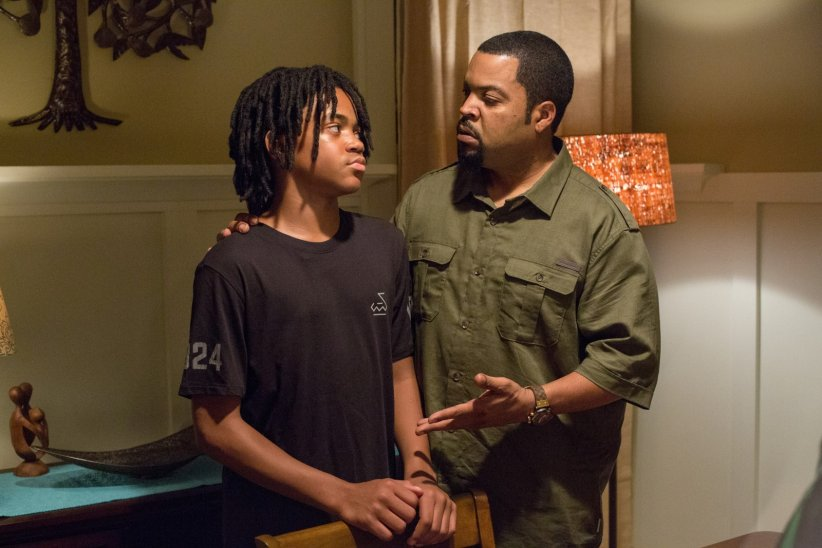 Barbershop: The Next Cut : Photo Ice Cube, Michael Rainey Jr.