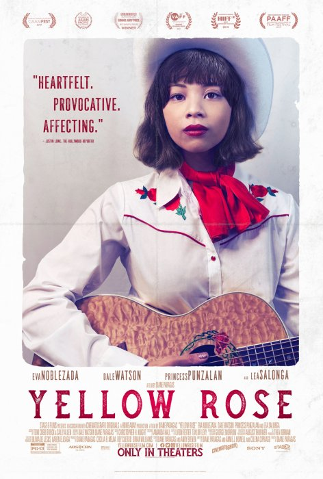 Yellow Rose : Affiche