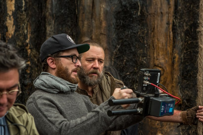 Noé : Photo Darren Aronofsky, Russell Crowe