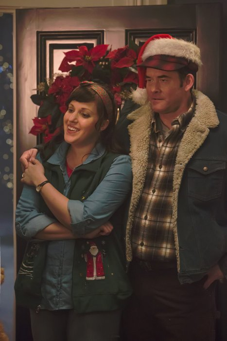 Krampus : Photo Allison Tolman, David Koechner
