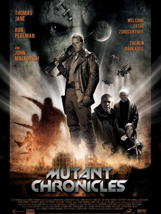 The Mutant Chronicles : affiche Simon Hunter