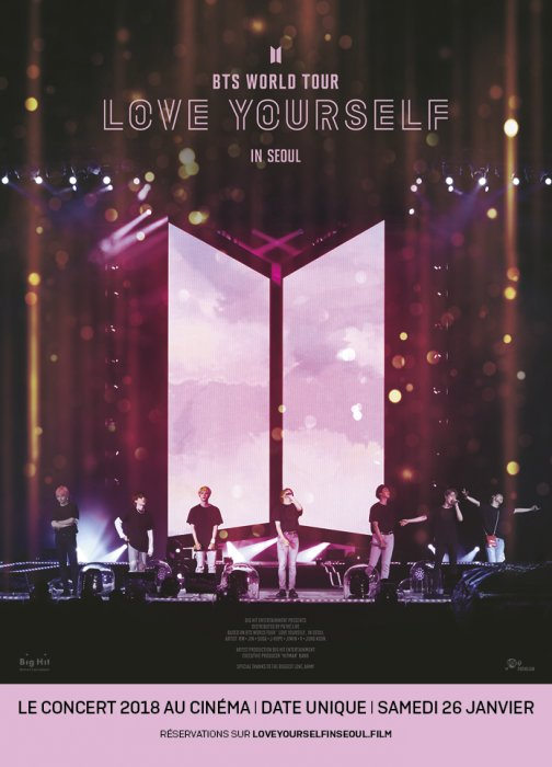 BTS World Tour: Love Yourself in Seoul : Affiche