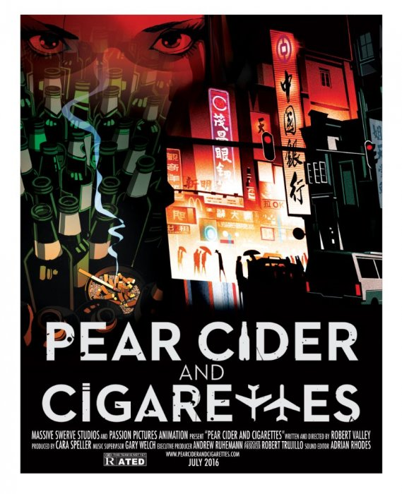 Pear Cider and Cigarettes : Affiche