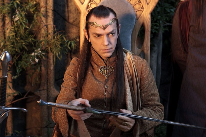 Le Hobbit : un voyage inattendu : photo Hugo Weaving