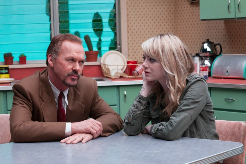 Birdman : Photo Emma Stone, Michael Keaton