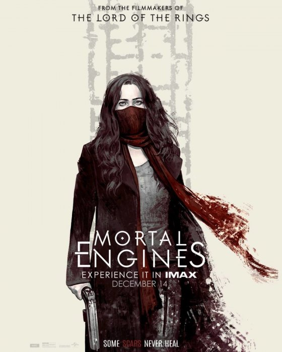 Mortal Engines : Affiche