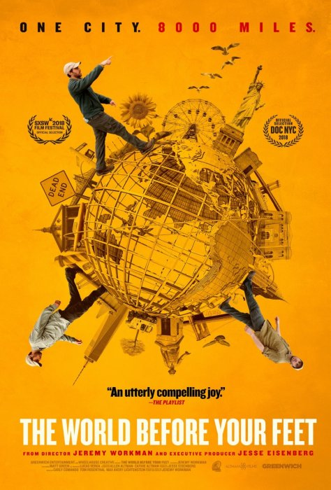 The World Before Your Feet : Affiche