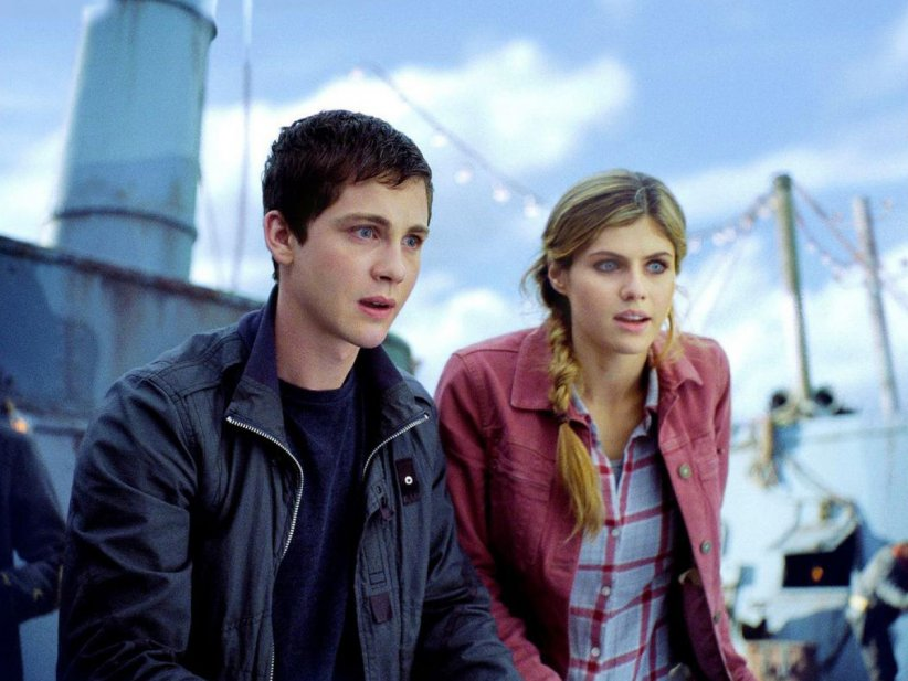 Percy Jackson : La mer des monstres : Photo Alexandra Daddario, Logan Lerman