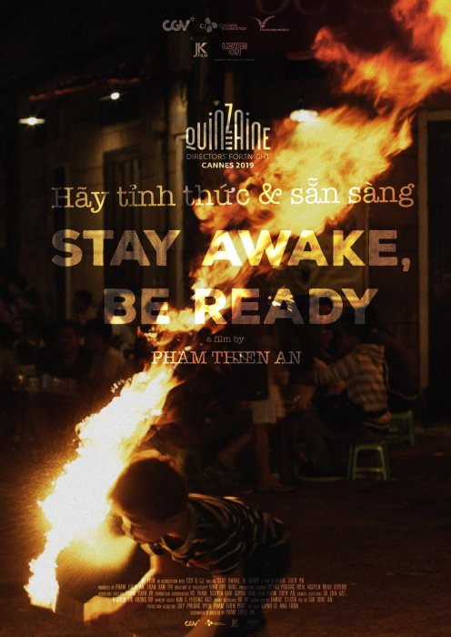 Stay Awake, Be Ready : Affiche