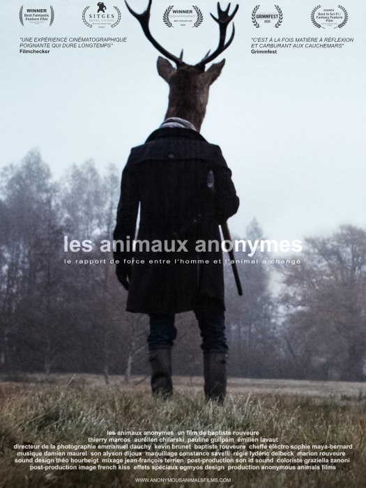 Les Animaux anonymes : Affiche