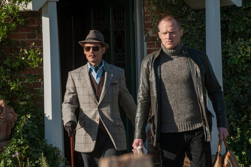 Charlie Mortdecai : Photo Johnny Depp, Paul Bettany