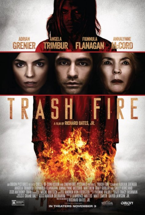 Trash Fire : Affiche