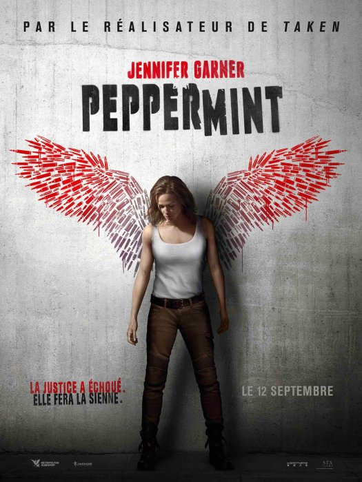 Peppermint : Affiche