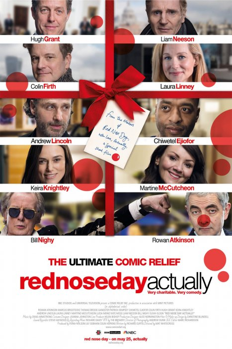 Red Nose Day Actually : Affiche