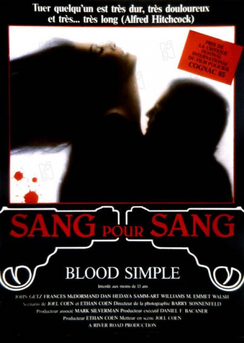 Blood Simple : Affiche