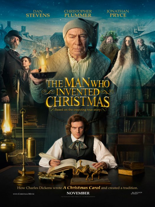 The Man Who Invented Christmas : Affiche