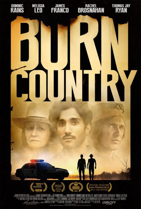 Burn Country : Affiche