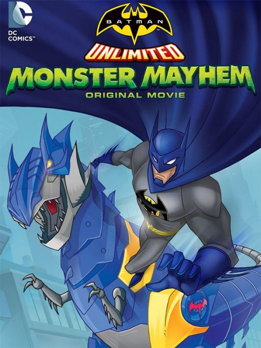 Batman unlimited : Monstrueuse pagaille : Affiche