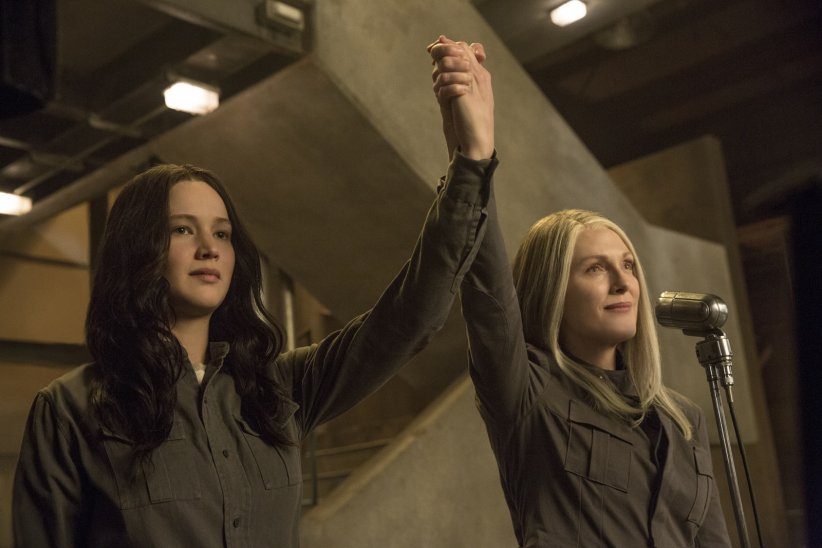 Hunger Games - La Révolte : Partie 1 : Photo Jennifer Lawrence, Julianne Moore