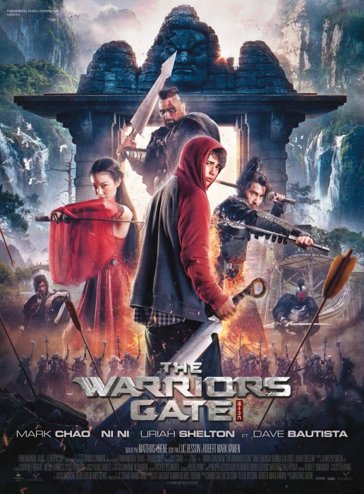 The Warriors Gate : Affiche