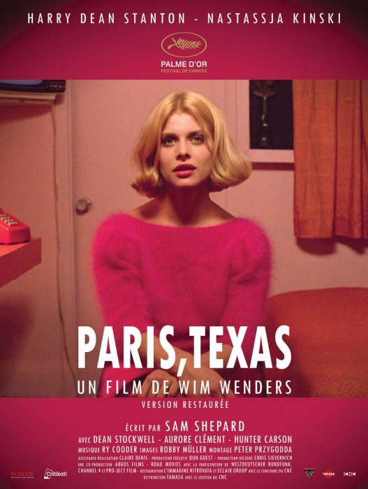 Paris, Texas : Affiche