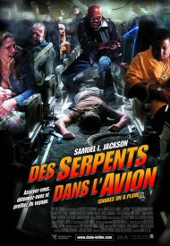 Affiche de Des serpents dans l'avion