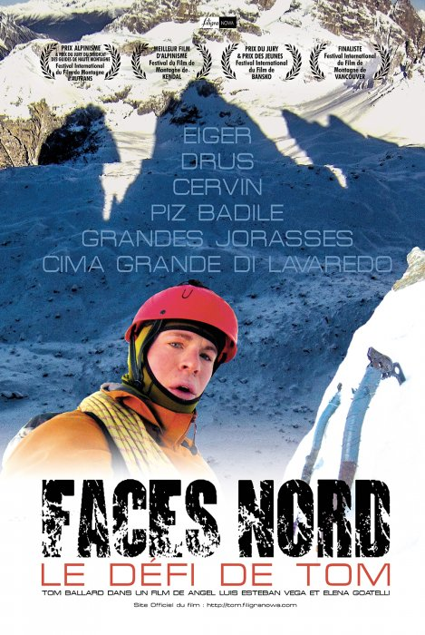 Faces Nord, le défi de Tom : Affiche